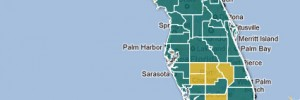 More than one-third of Florida school districts did not have a charter school during the 2010-2011 school year.