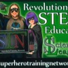 The Superhero Training Network Business Card