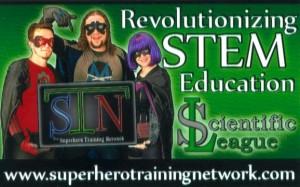 The Superhero Training Network Business Card