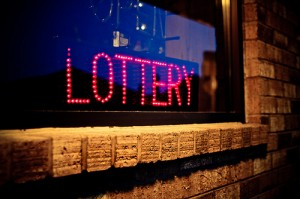 In a down economy, Florida Lottery sales were up. That means more money for schools and college scholarships.