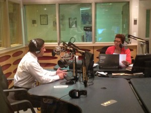 Miami-Dade school superintendent Alberto Carvalho speaks with Michel Martin, host of NPR's Tell Me More, in 2012.