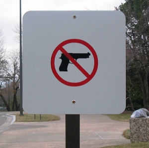 Students can't bring guns on university or college campuses, but the Florida Legislature may change that.