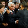 Republicans turned against former Gov. Charlie Crist shortly after he greeted President Obama in 2009 and accepted federal stimulus money. Crist is now a Democrat and contemplating a run for governor.