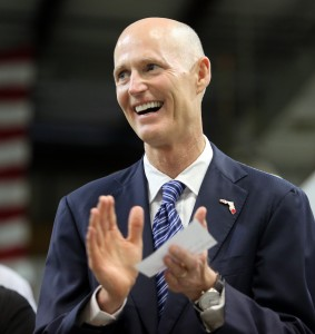 Florida Gov. Rick Scott said Wednesday that PARCC will take too long and is too expensive.