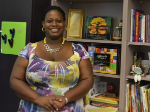 Principal Angela Maxey is ready for the Common Core at Sallye B. Mathis Elementary School in Duval County.