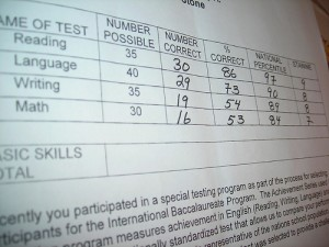 New York released the first round of results for its new test tied to Common Core standards.