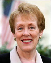 Former two-term Education Commissioner Betty Castor.