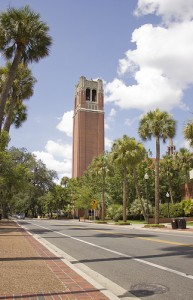 Century Tower at the University of Florida. UF Online will open in January.
