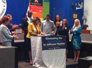 The Broward County Public School Board aims to decrease the rate of arrests in public schools.