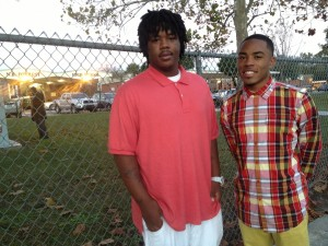Brothers Rodney Jones and Tremain McCreary attend the school that will no longer be named Nathan B. Forrest High School