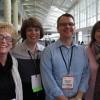 The staff at Holy Trinity Episcopal Academy. From left: Nancy Gavrish, Cathy Koos, Brad Meyer and Teresa Schultz.