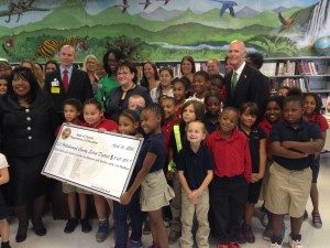 Gov. Rick Scott at Tampa's Graham Elementary School.