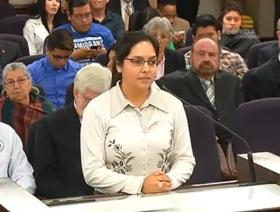 FRIDA'S SURPRISE: Senators learned from Miami resident and FIU grad Frida Ulloa that state resident tuition is already available for some undocumented immigrants.