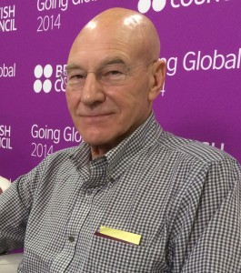 Sir Patrick Stewart is the chancellor of a university.
