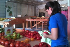 Mayra used to work on her father's farm when she couldn't afford to be a college student. Now that she attends Miami-Dade College, she still offers to lend a hand at the fruit stand her father manages.