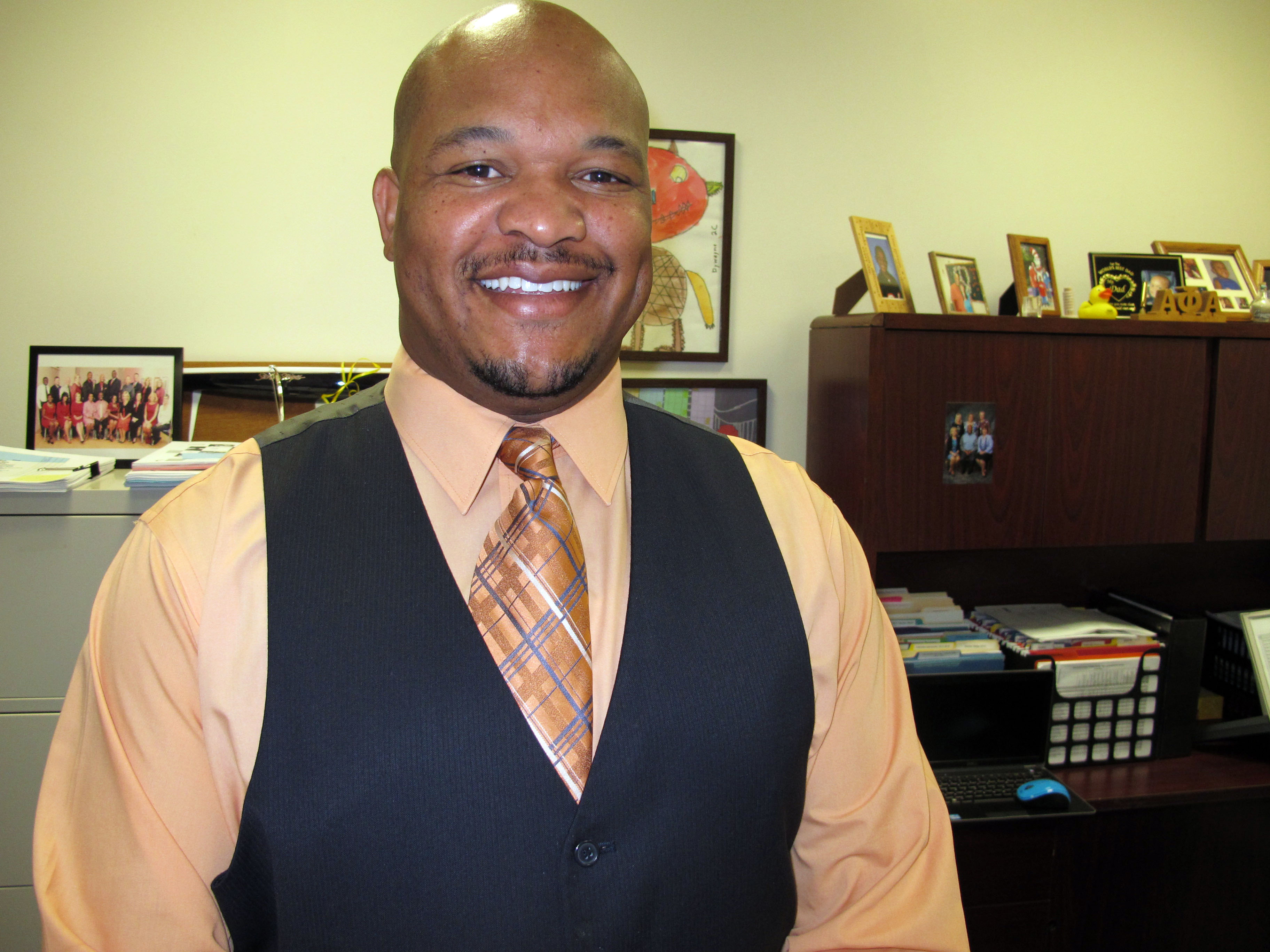Dywayne Hinds, Pinellas County schools director of middle school education,  is helping target incoming