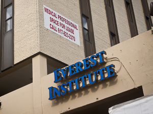 Corinthian Colleges, the parent company of Everest University, has agreed to sell or close all its campuses. This campus is Boston will close. Florida campuses will be sold.