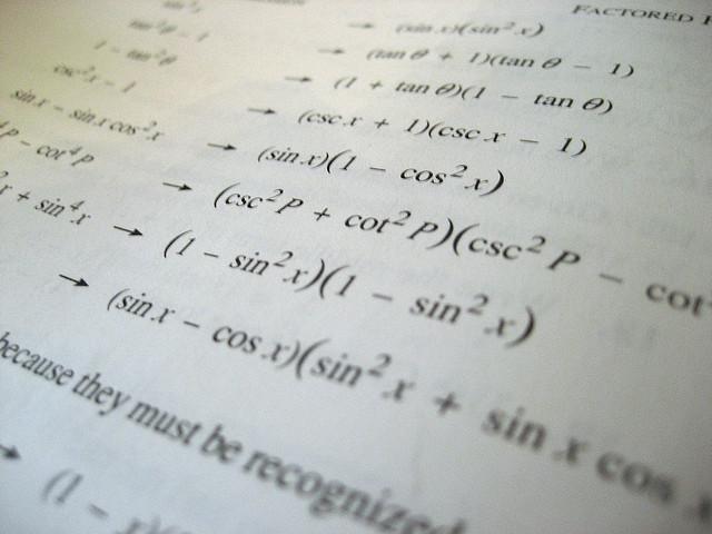 high school maths coursework