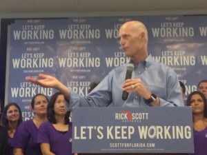 Gov. Rick Scott proposed a $30 million job training program and paid summer internships for teachers. The goal is to encourage more students to student science, technology, engineering and mathematics.