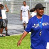 Veldreana Oliver has taught physical education for 28 years at Allapattah Middle School. More recently, her principal asked her to teach writing, speech and debate.