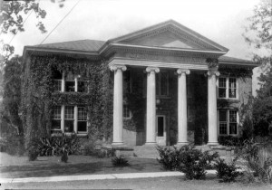 The Carnegia Library at Florida A&M University in the 1930s.