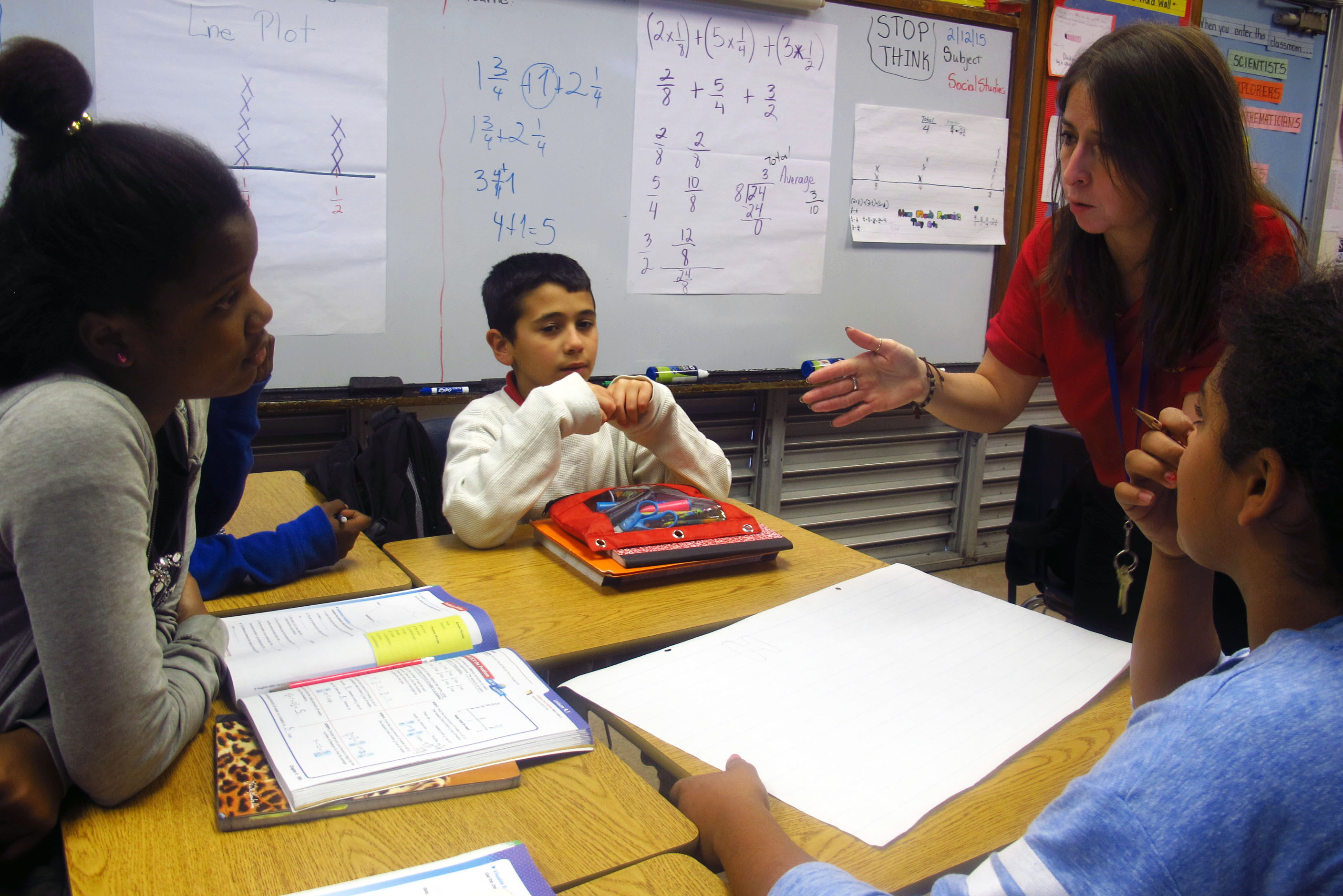 Worksheet Elementary Maths why elementary math lessons are changing in florida schools frances s tucker schoo fifth grade teacher yaliesperanza salazar leads her class through