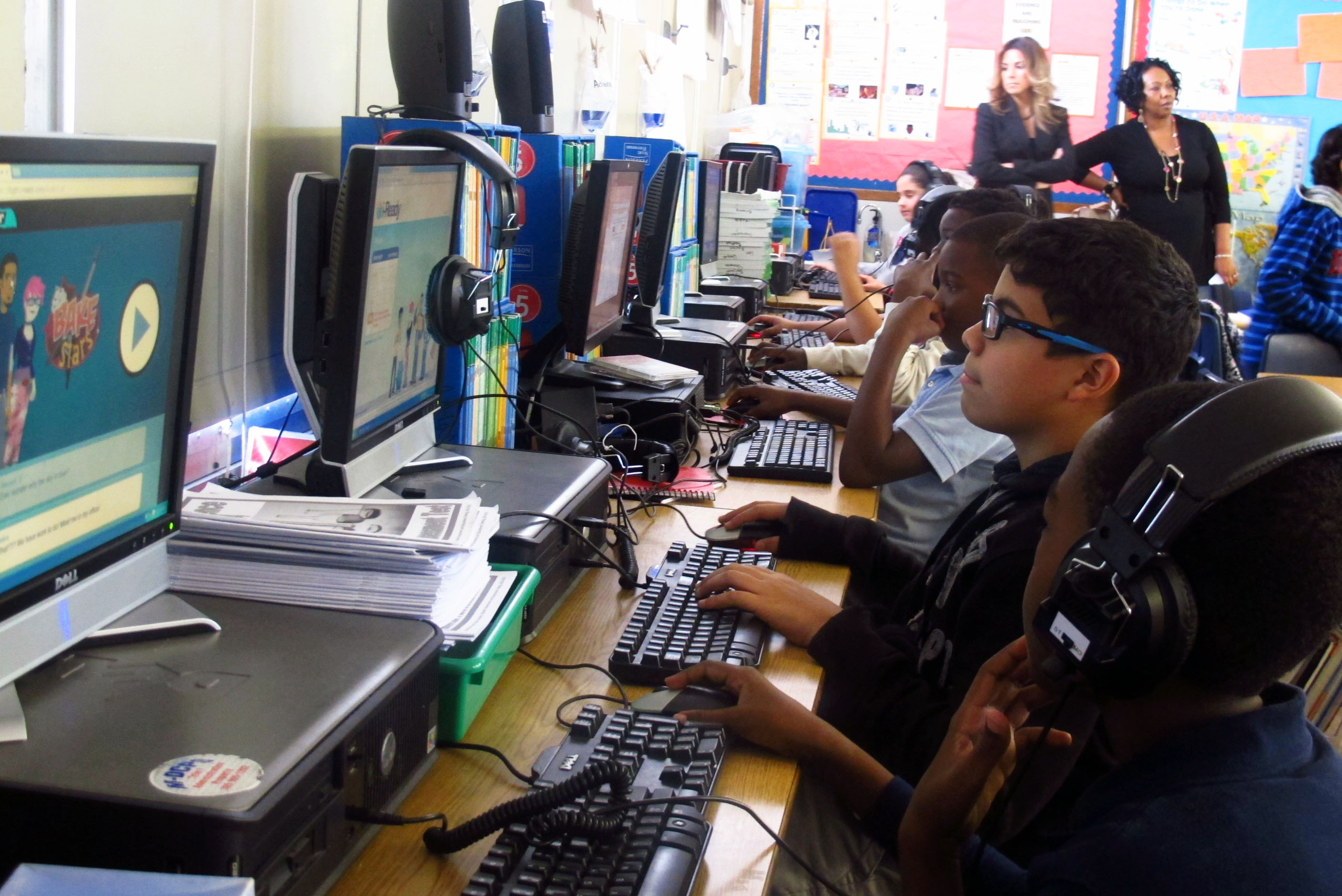 Elementary Classrooms Technology Use ~ Study finds more classroom technology doesn t mean