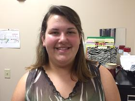 Jacklyn Brauning, 19, is one of the students at Enterprise High School. She is scheduled to graduate on June 4, 2015.