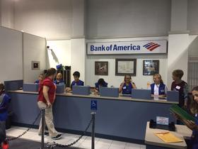 Bank of America is one of the career options for working students at Enterprise Village.