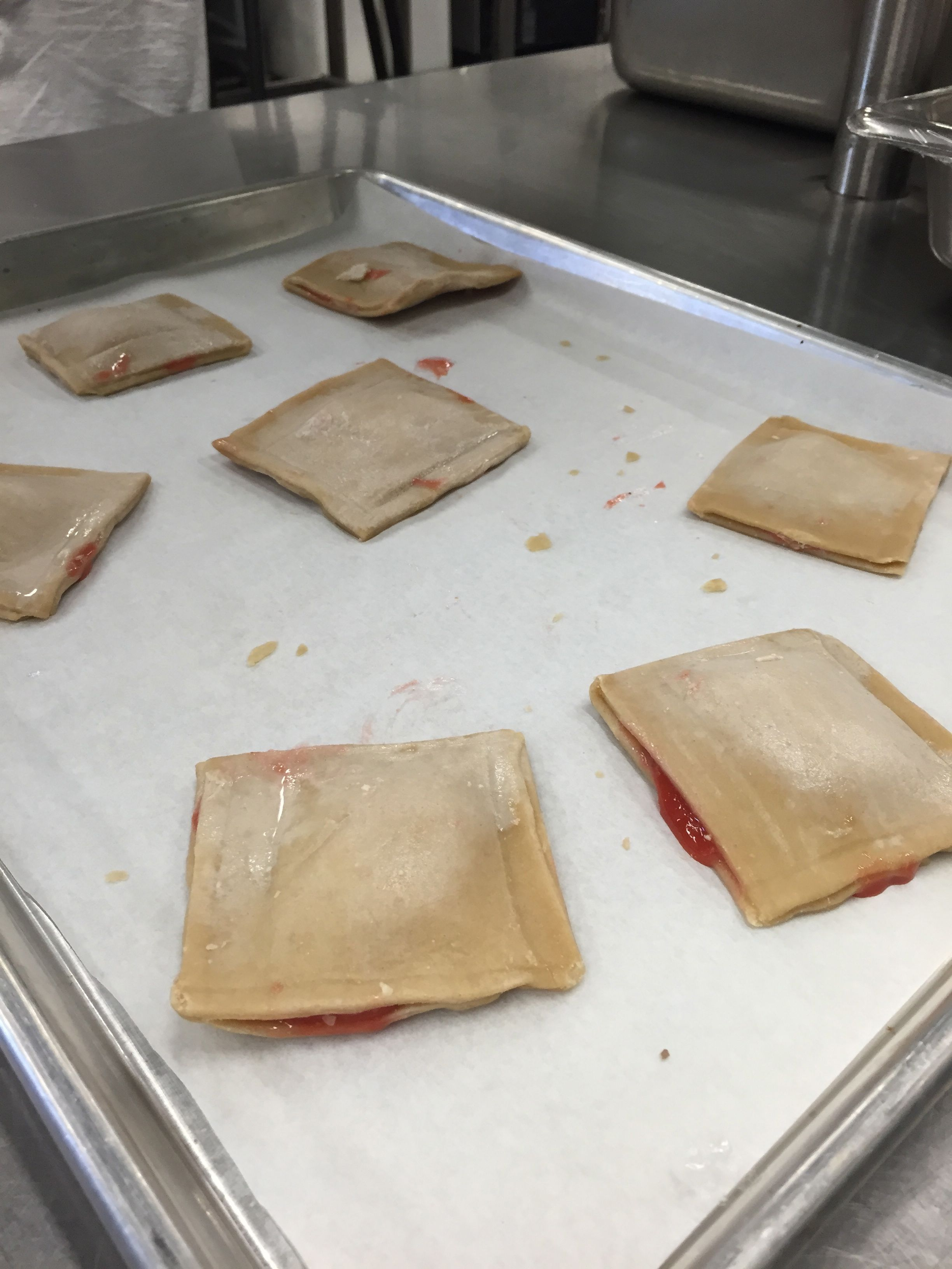 A Tray Of Guavalitos Before Baking The Breakfast Treats Are Locallymade  In Miami