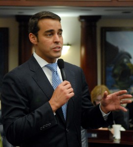 Miami Republican Rep. Erik Fresen came up with the bonus program after reading a book examining top-performing education systems.