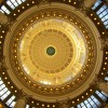 Inside the Idaho State Capitol dome.