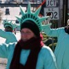 People Dressed In Statue Of Liberty Costumes