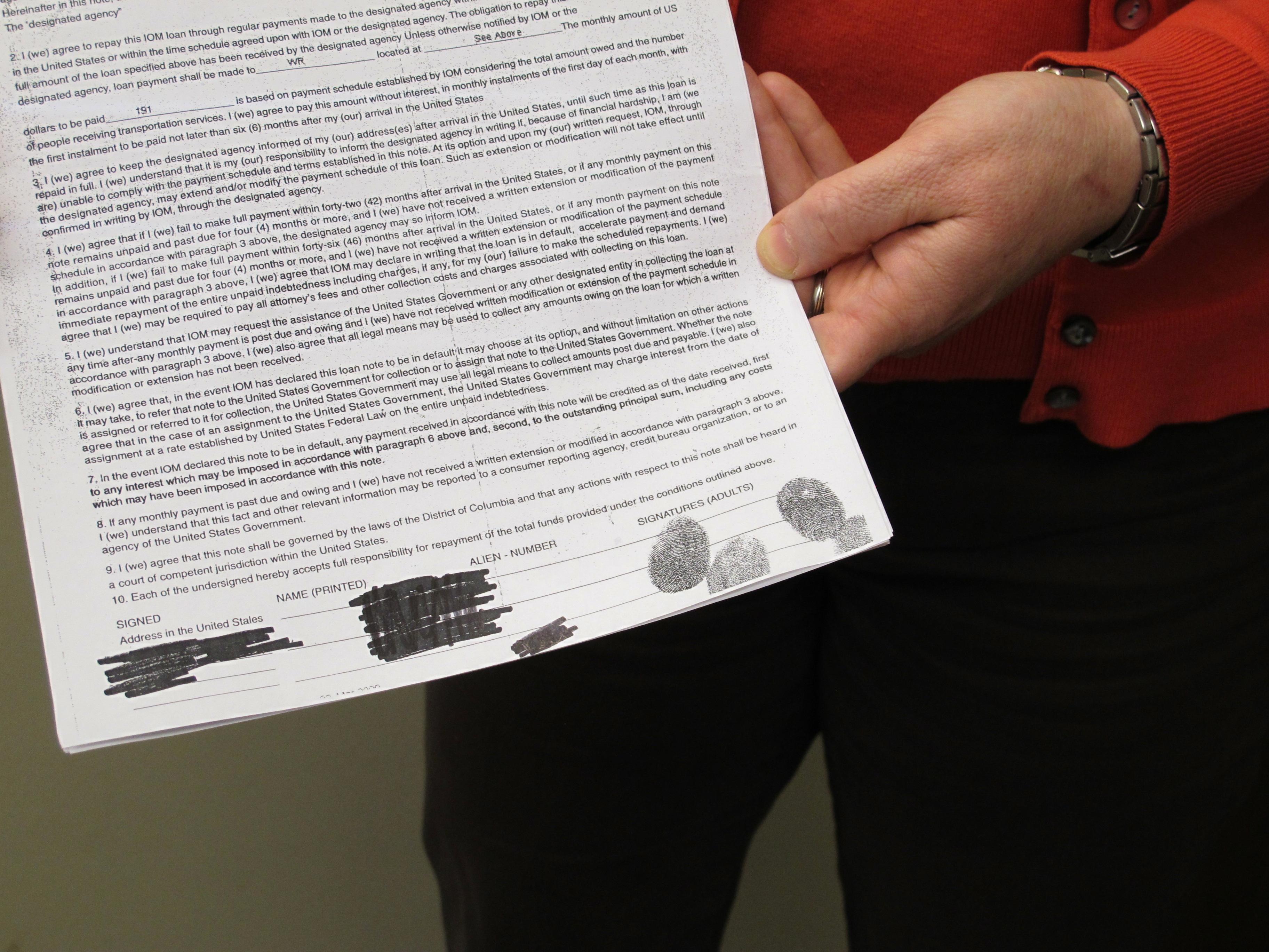 Travel Loans Jeopardize Success For Idaho Refugees   StateImpact Idaho