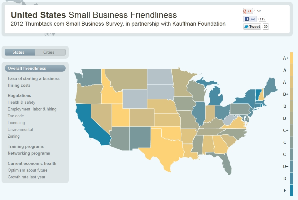 Small Business Owners Rank Idaho 'Friendliest' State ...