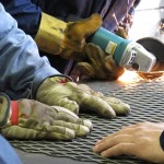 Professional students practice their welding skills in Meridian, Idaho.