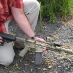 This M4 is a weapon commonly used by elite units of the U.S. military.  It's used to test ammunition at PNW Arms in Potlatch, Idaho.