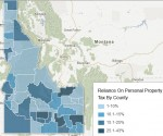 Click on the map to see which companies benefit most if Idaho's personal property tax goes away.