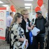 Job seekers line up at a recent Idaho Department of Labor job fair in Boise.