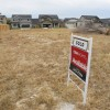 Construction is underway and sold signs are posted at this south east Boise subdivision.