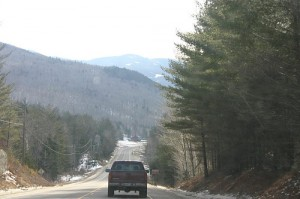 Driving Around Northern New Hampshire, Pinkham Notch