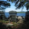 The high-value second homes along Squam Lake help keep property tax rates in Moultonborough low.
