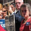 Democratic candidate Maggie Hassan is pushing education funding as key to bolstering the state's economy.