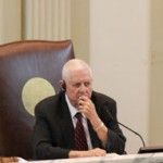 Rep. David Dank, R-Oklahoma City, presiding over a tax credit task force meeting.