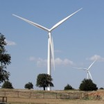 An Oklahoma wind turbine
