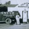 Historic photo of the Glidewell Service Station in Beaver, Okla.