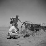 Members of a drought committee at farm near Guymon, Okla. in 1936.