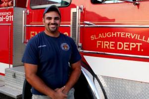 Josh Harris, 23. Firefighter, drilling worker.