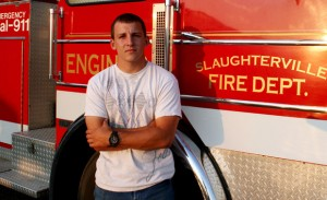 Matthew Kent, 20. Firefighter, construction manager.