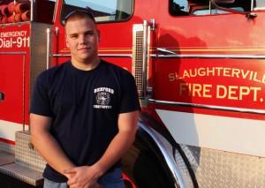 Travis Terrel, 21. Firefighter, student.